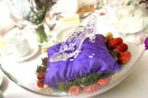 """GLASS SLIPPER""DISNEY'S 'CINDERELLA 'INSPIRED TABLE DECORATION"